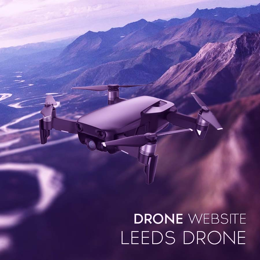 leeds drone website by Digital Avalon